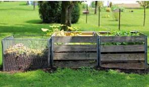 Foto de composteiras caseiras