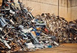 Local de reciclagem de metais